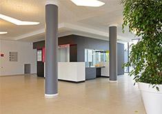 Clinique de Sermay Hall d'accueil